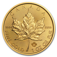 2018 Canadian Maple Leaf 1 oz Gold Coin