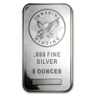 Sunshine Mint 5 oz Silver Bar