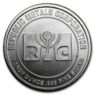 Republic Metals Corporation 1 oz Silver Round