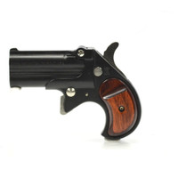Cobra Derringer Big Bore Derringer - Blued with Rosewood Grips - 9mm