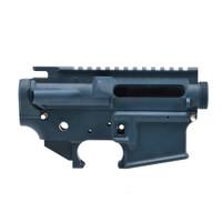 Bushmaster Blue AR-15 Mil-Spec Stripped Lower/ Upper Receiver - 223 Rem/ 5.56 NATO
