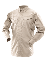 Tru-Spec 24-7 Series Men's Ultralight Long Sleeve Field Shirt - Khaki