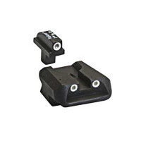 Trijicon Colt Government / Combat Commander 3 Dot Night Sight Set