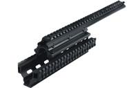 Leapers UTG Saiga-12 Shotgun Tactical Quad Rail with Rail Covers