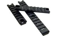 Leapers UTG G36 Picatinny Rail Set, 1 Long/2 Short Rails
