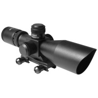 AIM Sports Titan 3-9X40MM Scope with BDC and Mil-Dot Reticle