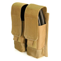 Blackhawk AK-47 Double Mag (Holds 4) Molle - Coyote Tan