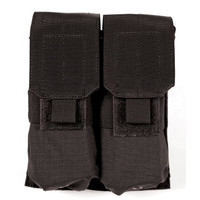 Blackhawk M4/M16 Double Mag Pouch (Holds 4) - Molle - Black