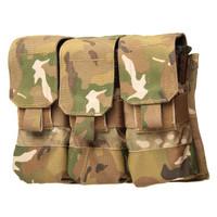 Blackhawk M4/M16 Triple Mag Pouch (Holds 6) - Molle - MultiCam