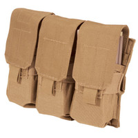Blackhawk M4/M16 Triple Mag Pouch (Holds 6) - USA Molle - Coyote Tan