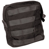 Blackhawk Large Utility Pouch with Zipper - USA Molle - Black