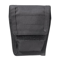Blackhawk Belt Mounted Double Handcuff Pouch - Black