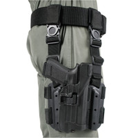 Blackhawk SERPA Level 3 Light Bearing Tactical Holster - Black