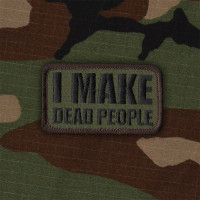 I Make Dead People - Patch