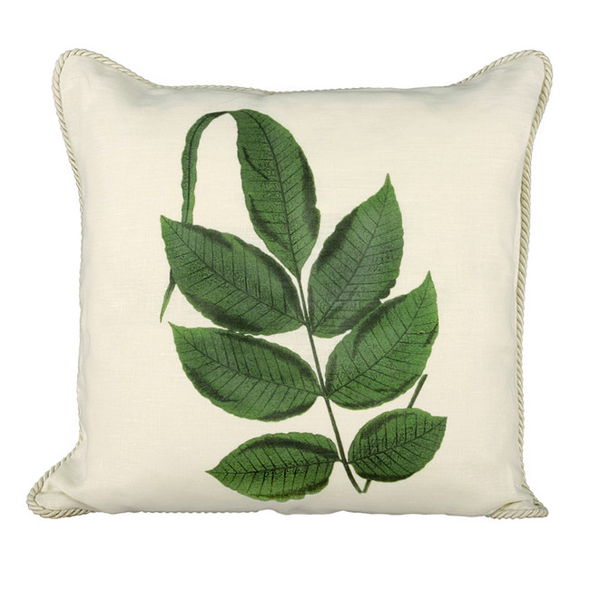 Stove Fern Ox Bow Pillow