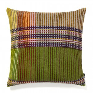 Wallace Sewell Cushion - Lambswool Pinstripe (Eden)