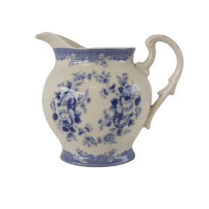 Powell Craft - Blue Rose Creamer
