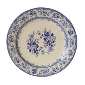 Powell Craft - Blue Rose Plate 25cm