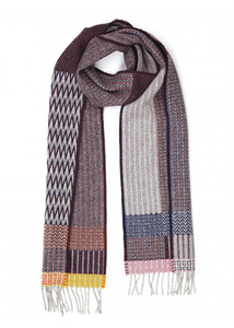 Wallace Sewell - Aubergine Duo Scarf