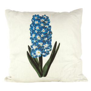 Hyacinth Ox Bow Linen Pillow