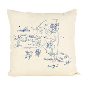 New York Ox Bow Pillow