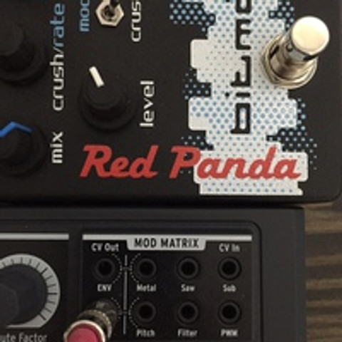 Control Voltage (CV) with Red Panda Pedals
