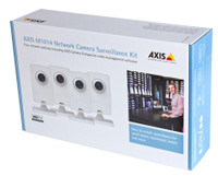 Axis M1054 Surveillance Kit, 4-Camera Pack, 0338-044