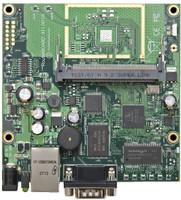 MikroTik 680Mhz CPU, 64MB SDRAM, 1 LAN, 1 miniPCI, LVL 4 OS, RB/411AH