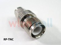 WLANmall RP-TNC Female to RP-SMA Male Adapter, ADPT-RTNCF-RSMAM