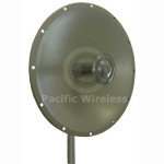 Laird 3' 32.5dBi 4.9-5.8GHz Dish Antenna, HDDA5W-32-SP