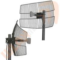 Laird 2.4 GHz 24 dBi Parabolic Grid Antenna, GD24-24-NF