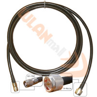 WLANmall 10'  400 Type, N-Male to RP-TNC Cable, CL400-NM-RT-10