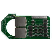 WBH, Rack Mount 100 Mbps Ethernet Surge Protector, 800-444APC-HV