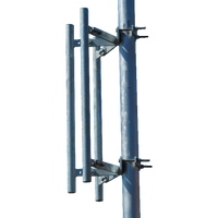 """WBH, Sector Antenna Mount with 3 36"""" Masts, 800-M-TOW-3P-36 3P-36"""