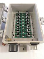 WBH 800-GigE-TWR-(Jor P)-HV Tower/Wall Mount Ethernet Surge Protector, 800-GigE-TWR-J-HV