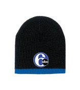 6abc Adult Two-Color Beanie