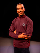 6abc Men's Sport-Tek® Sport-Wick® Stretch 1/2-Zip Pullover