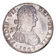 Mexico Ferdinand VII 1809 MO-TH 8 Reales Mint state