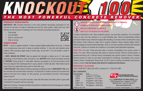 Knockout 100™ (concrete remover)
