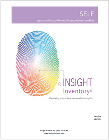 INSIGHT Inventory SELF  (online INTERPRETIVE Report)