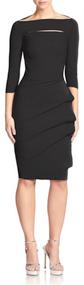 Chiara Boni La Petite Robe Nero Kate Dress