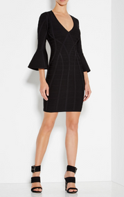 Herve Leger Yasmine Signature Essentials Dress