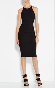 Herve Leger Aurora Signature Essentials Dress