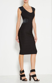 Herve Leger Janelle Starburst Sequin Dress