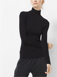 Michael Kors Stretch-Viscose Turtleneck