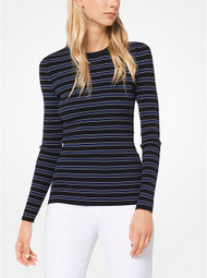 Michael Kors Striped Stretch Pullover