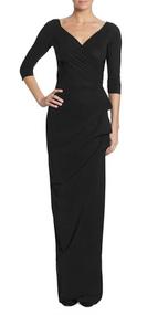 Chiara Boni La Petite Robe Nero Florien Long Dress