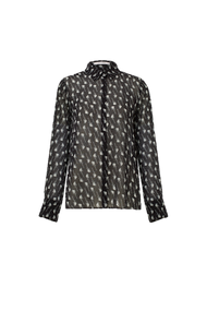 Dorothee Schumacher Guitar Printed Georgette Blouse