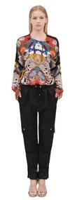 Roberto Cavalli Butterfly Fantasy Shirt