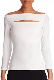 Chiara Boni La Petite Robe Bianco Katy Top